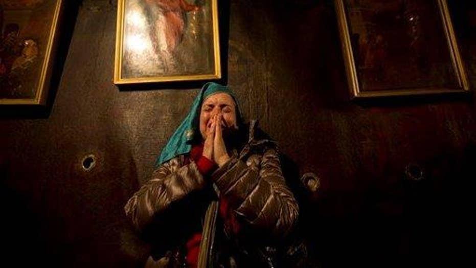 Bethlehem celebrates Christmas Eve amid recent violence