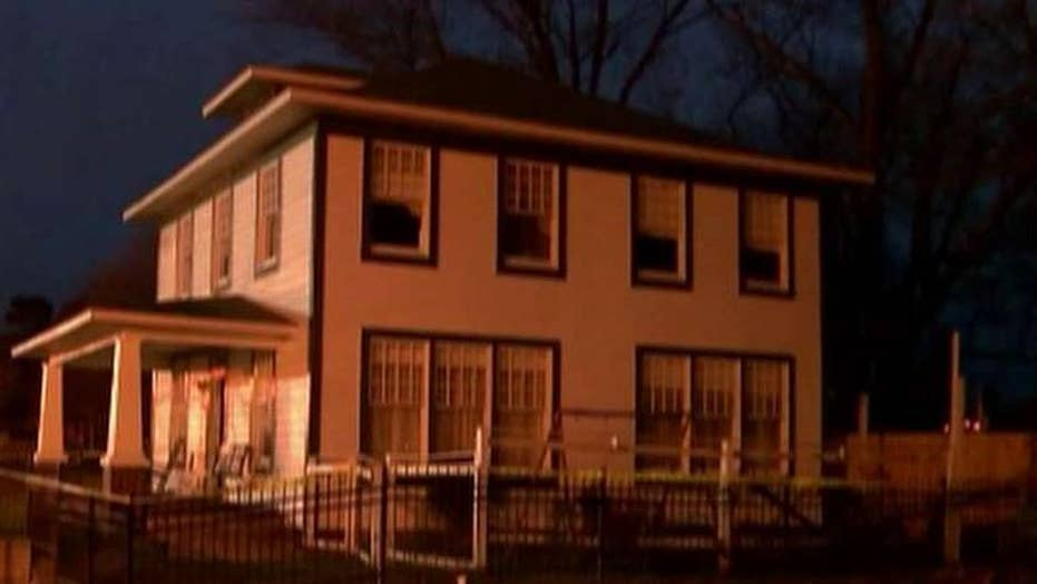 Fire damages childhood home of Bill Clinton