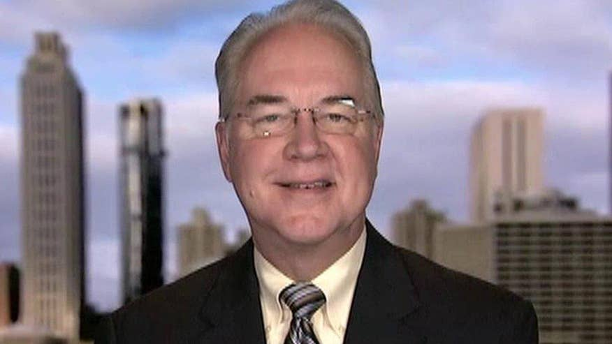 Rep. Tom Price lays out the agenda