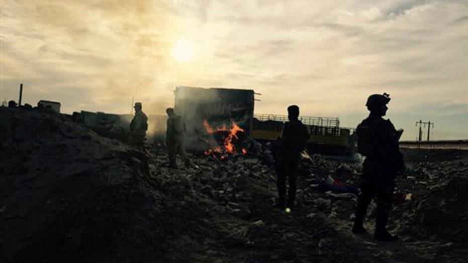 Report: Iraqi troops preparing to retake Ramadi from ISIS