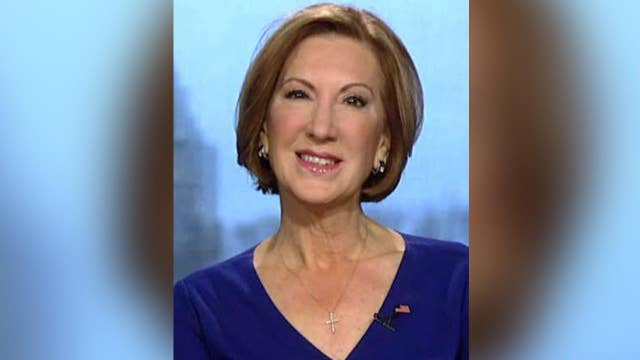 Fiorina: Never going to ask for support because I'm a woman