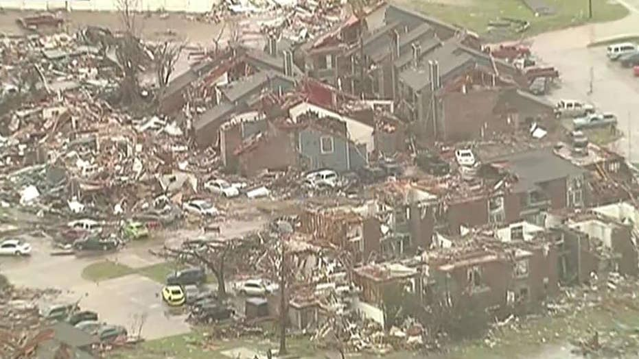 Garland, Texas recovering after 'horrific' tornadoes