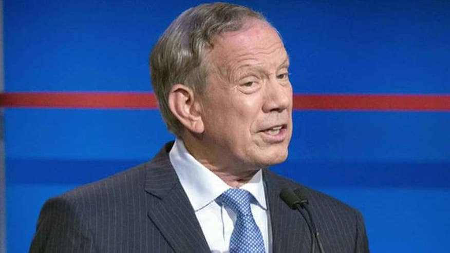 Former New York governor ends presidential bid