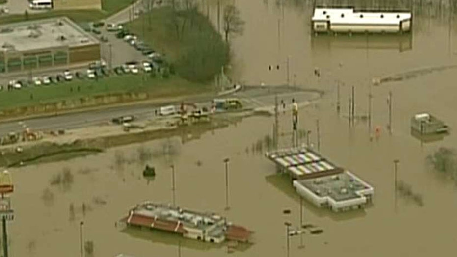Heavy rains trigger flooding, evacuations in Missouri