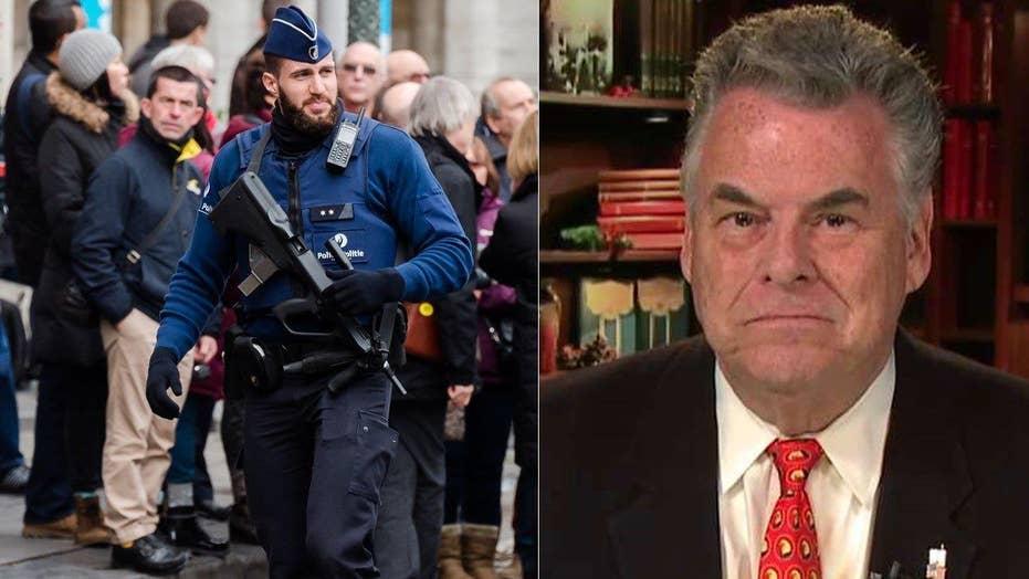 Rep. Peter King on New Year's Eve terror plot in Belgium
