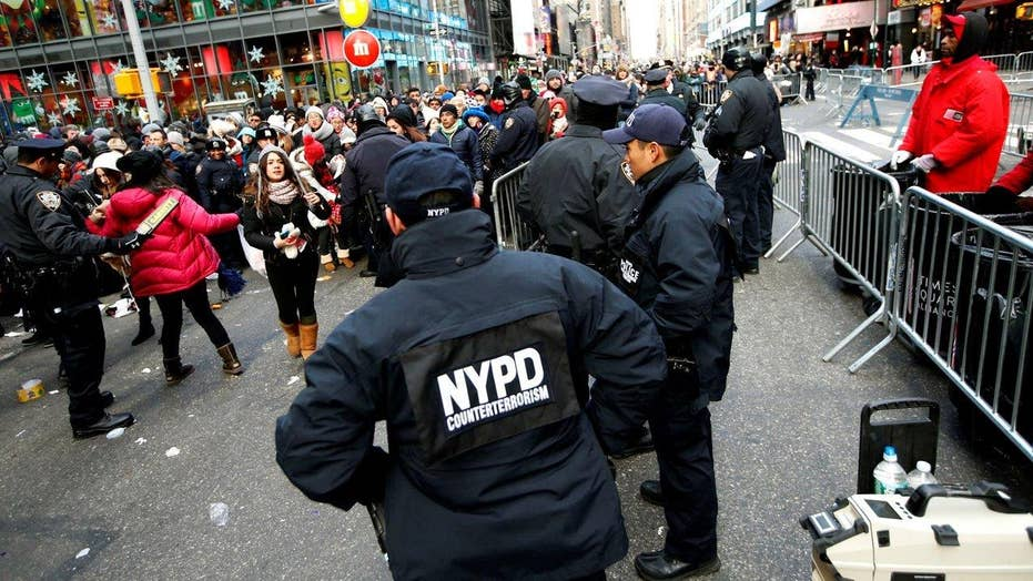 Thousands of cops to patrol Times Square for New Year's Eve