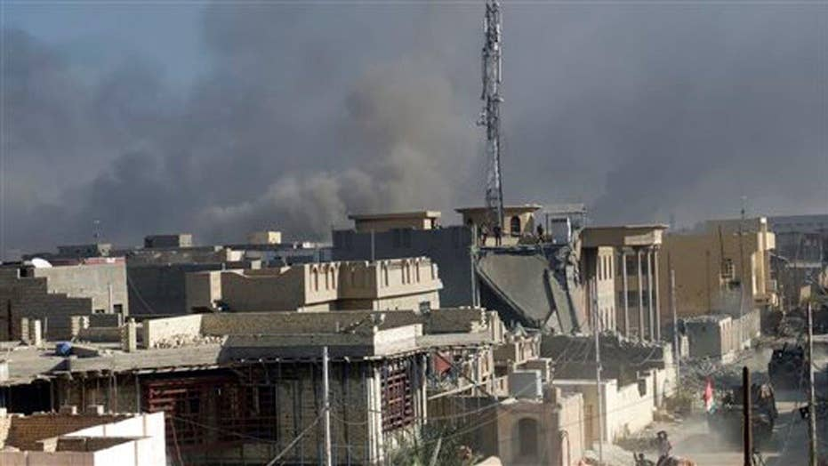 US Army: Estimated 700 ISIS fighters in and around Ramadi