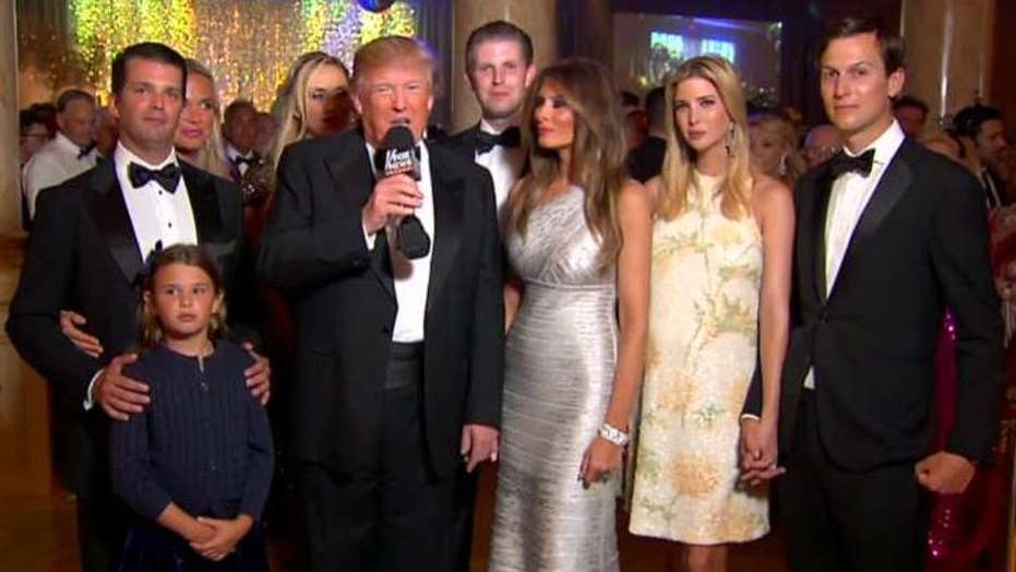 Donald Trump rings in 2016 with Fox News
