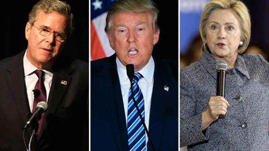 Jeb Bush says Trump can't win against Hillary Clinton