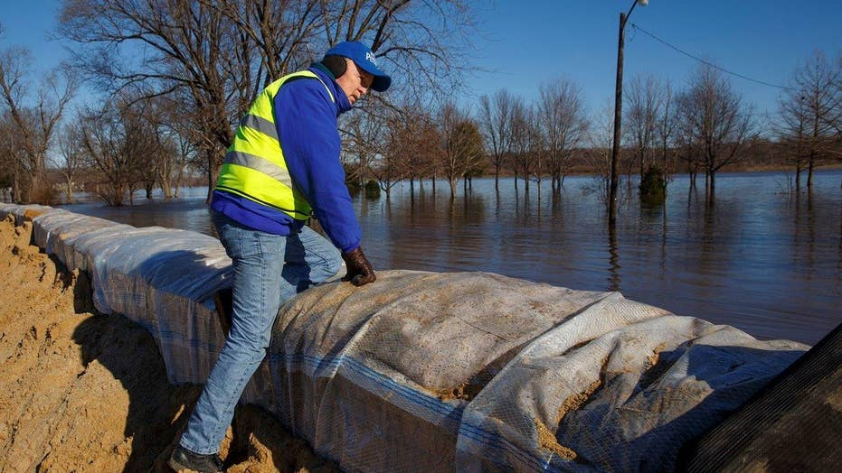 Southern states brace for impact as flood waters rise