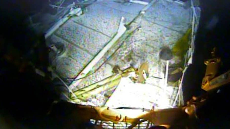 NTSB releases first pictures of El Faro wreckage