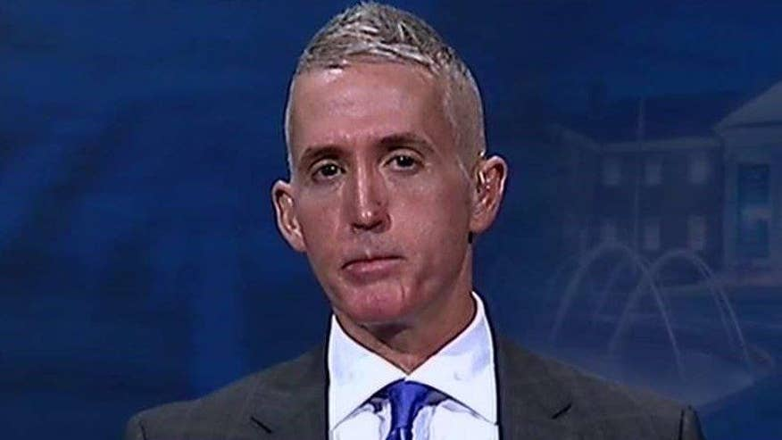 Rep. Trey Gowdy goes 'On the Record' on why he's campaigning for GOP presidential candidate Marco Rubio and fear that 17 Gitmo detainees released this week are 'bad guys' and Al Qaeda followers