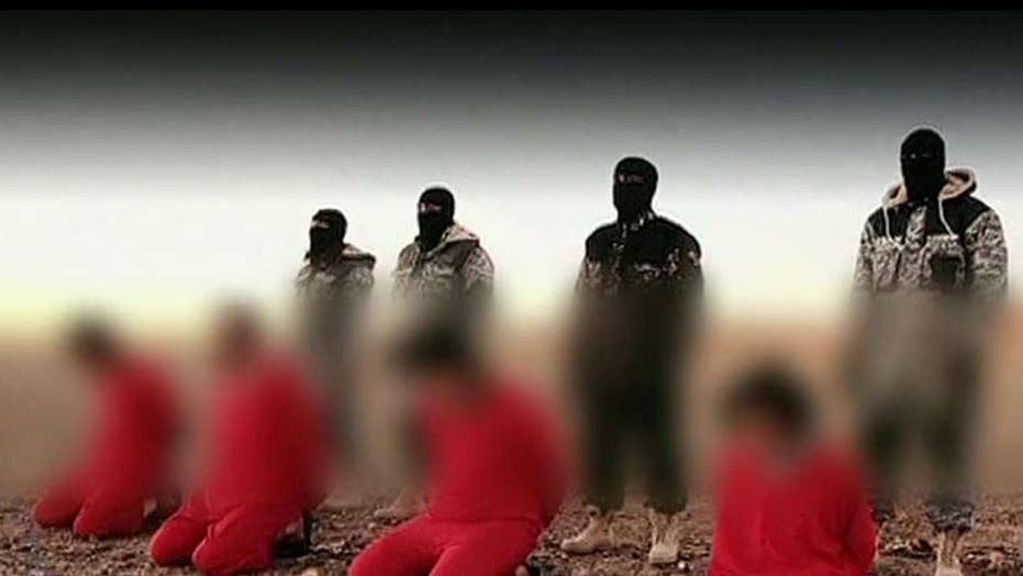 New video shows ISIS militants executing 'spies'