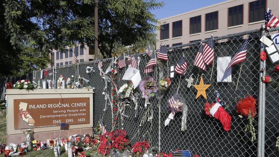 Employees return to San Bernardino center for the first time