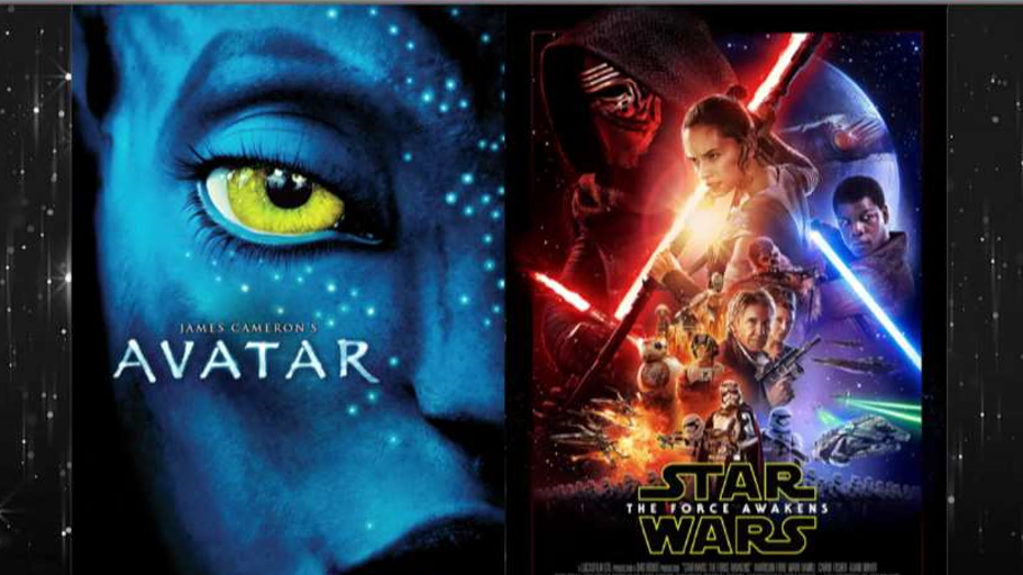 'Star Wars' closes in on 'Avatar'
