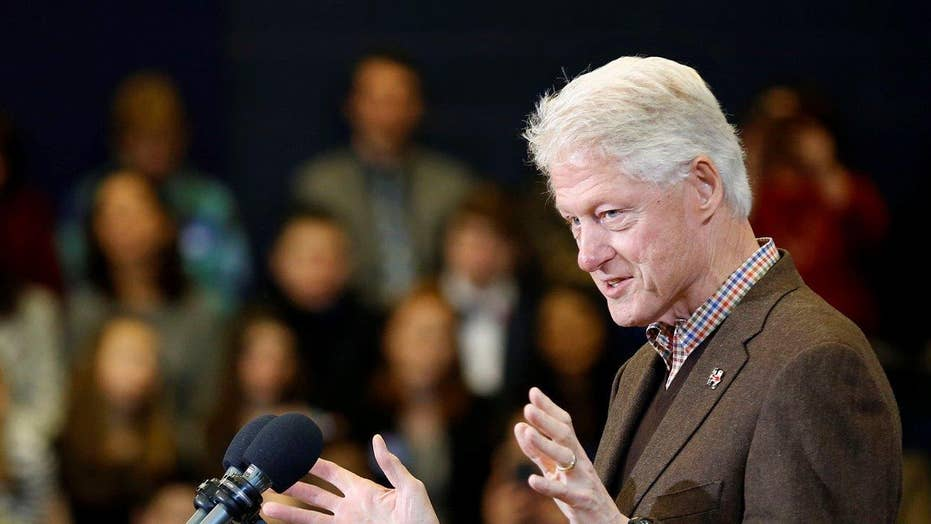 Bill Clinton makes 2016 campaign debut