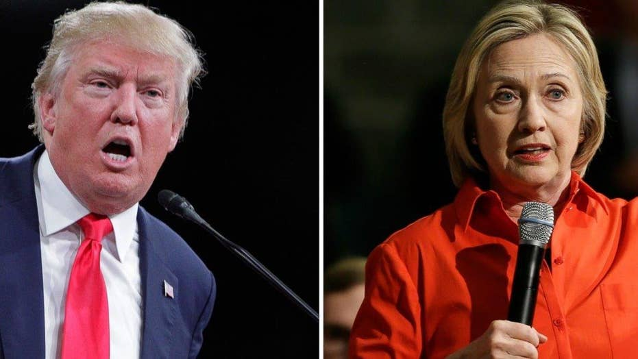 Trump targets Clintons with all eyes on Iowa
