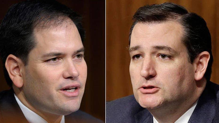 The Rubio, Cruz rivalry heating up