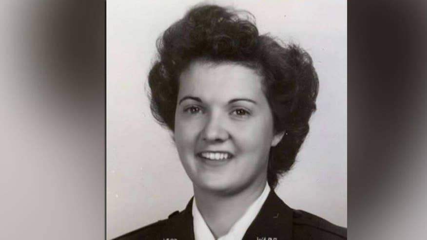 Family of World War II veteran Elaine Harmon launches campaign to allow her to be laid to rest at Arlington National Cemetery. Rep. Martha McSally, the nation's first combat pilot, goes 'On the Record'