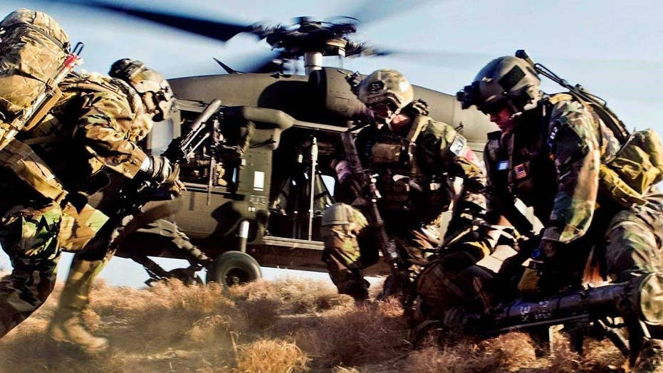 Special Ops Forces conduct rescue operation in Afghanistan