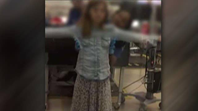 Father says 10-year-old daughter patted down over juice box