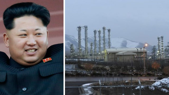 Allegations of nuclear ties between North Korea and Iran
