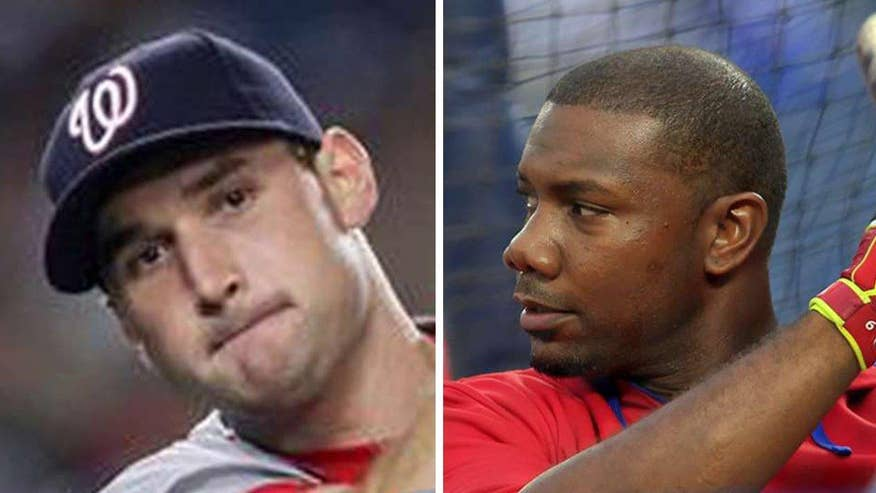 Ryan Zimmerman and Ryan Howard sue the news organization over PED report