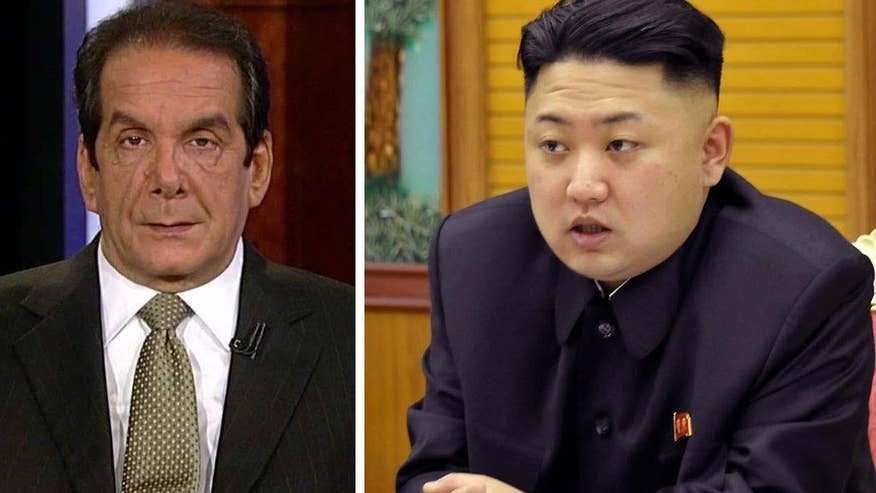 Krauthammer on SR Panel. Krauthammer says the way to fix North Korea is to engage China.