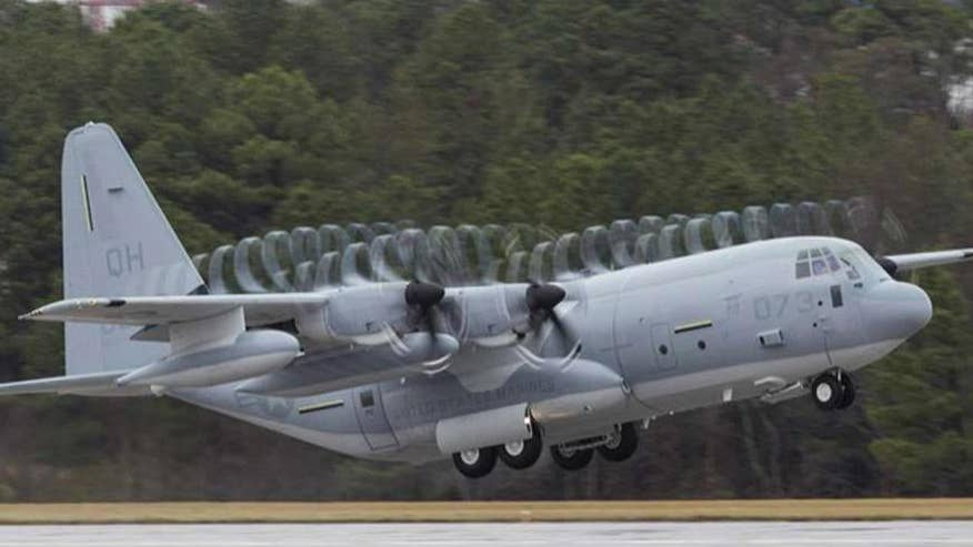 Tech Take: War Games columnist Allison Barrie on the DoD awarding Lockheed Martin a contract worth more than $1 billion to build 32 of the c-130 super hercules aircrafts