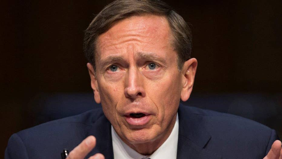 What did Petraeus' Benghazi testimony reveal?
