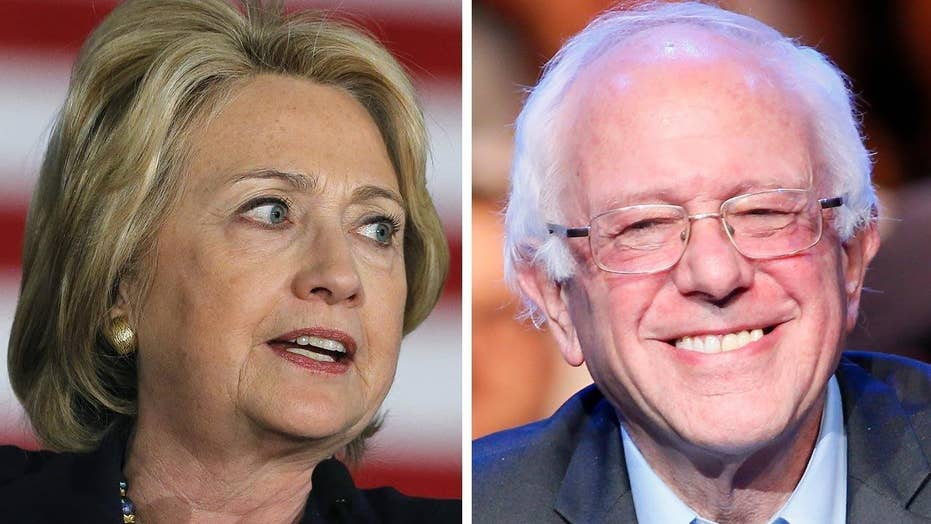 Hillary Clinton concerned about Sanders' fundraising prowess
