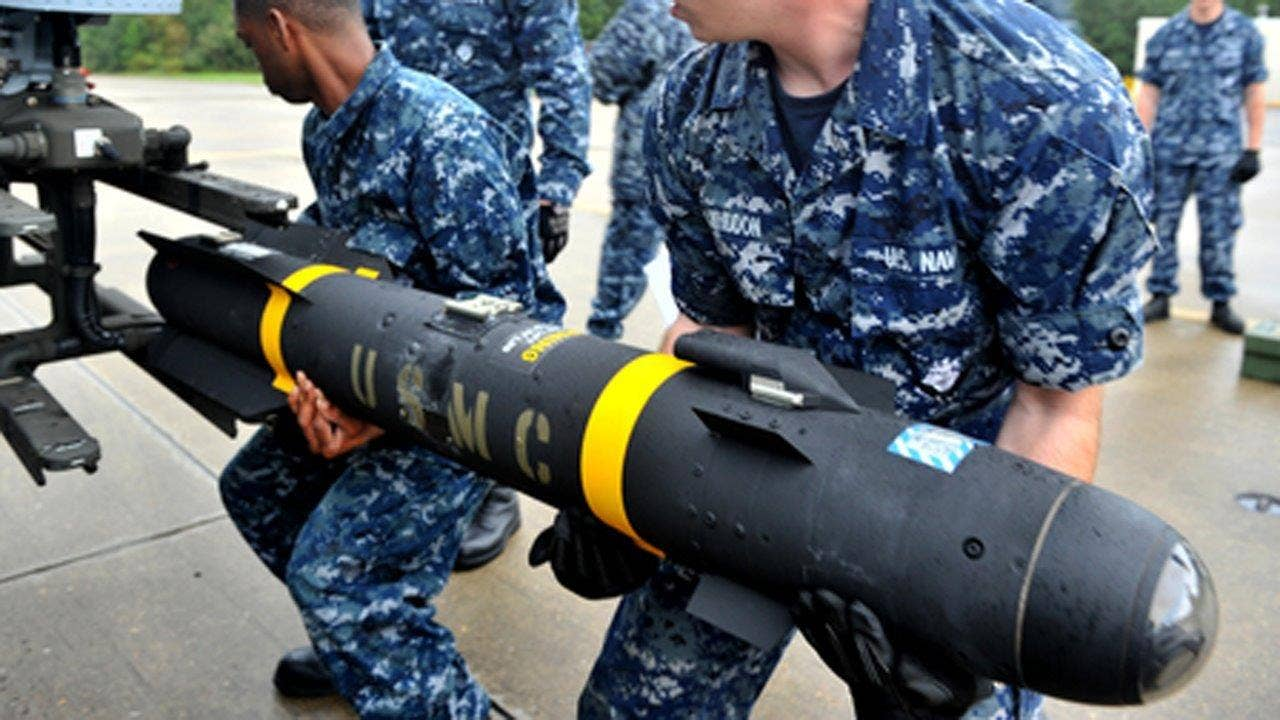 American Hellfire missile was diverted to Cuba in 2014