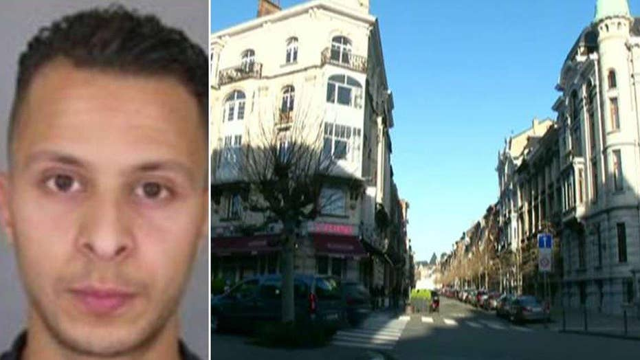 Paris terror suspect's fingerprint found in Belgian apt.