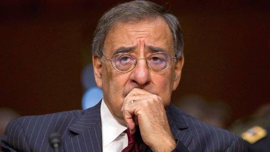 Leon Panetta gives testimony to Benghazi committee