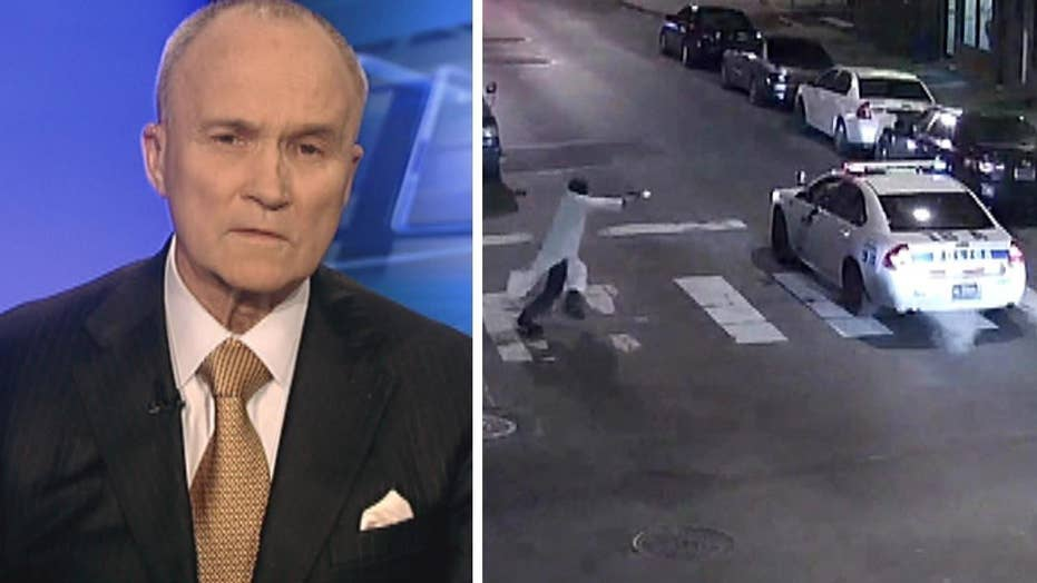 Ray Kelly on ISIS-inspired cop ambush, police on edge