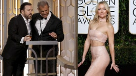 Four4Four Golden Globes special: Did Ricky Gervais go too far with Mel Gibson? What was the best jab of the night? What happened to Matt Lauer? Who was the best dressed?
