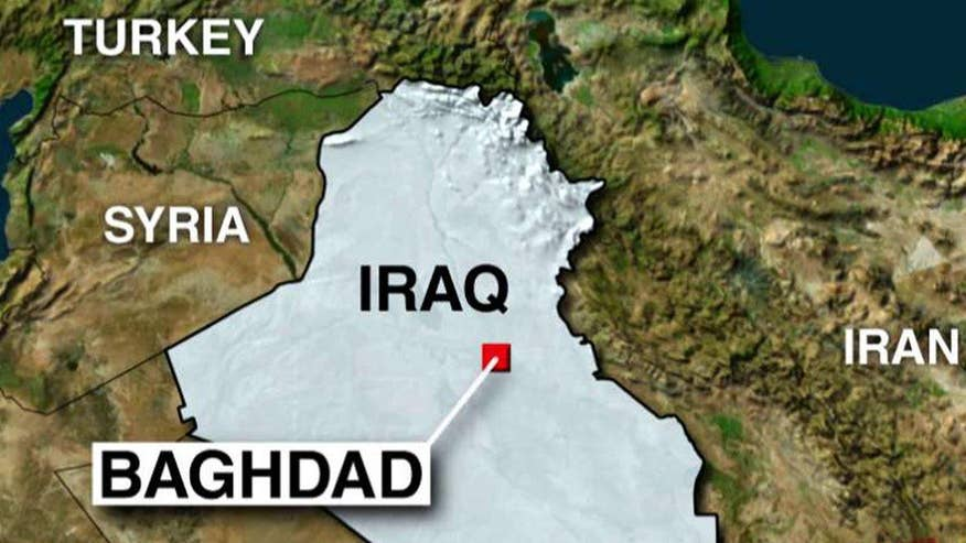 Iraqi officials say at least 10 killed