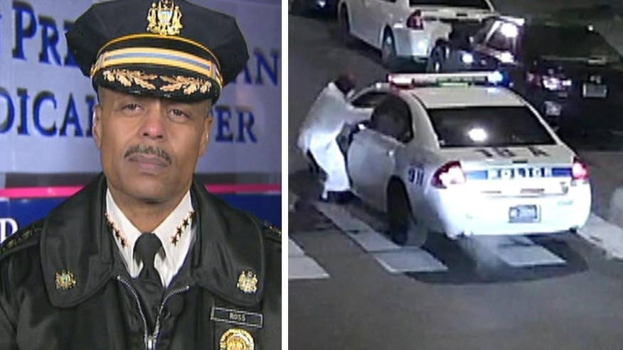 Philadelphia police and FBI investigate tip that 'radical' associates of a self-proclaimed ISIS-inspired gunman who attacked cop were still at large. Philadelphia Police Commissioner Richard Ross goes 'On the Record'