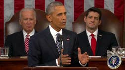 President Obama's State of the Union address was at once a victory lap and a to-do list...