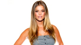 Sports Illustrated model Nina Agdal reveals how she gets in shape for a sizzling photoshoot - including those skimpy bodypaint spreads.