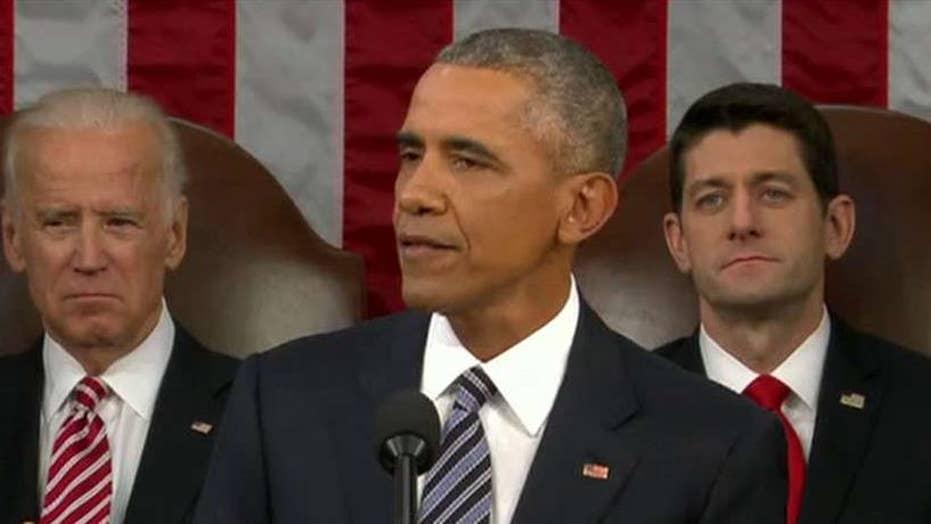 Obama defends economic record, downplays ISIS threat in SOTU