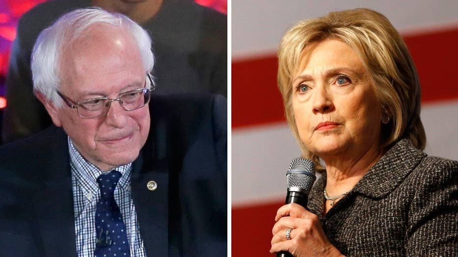 Clinton continues to lose ground to Sanders in Iowa, NH