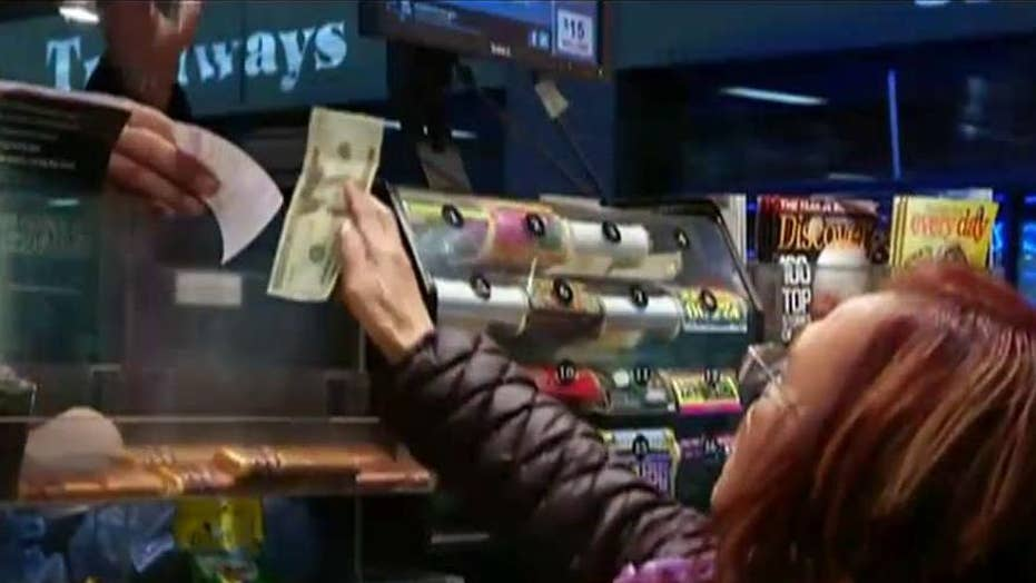 Rush to get tickets for $1.5 billion Powerball drawing