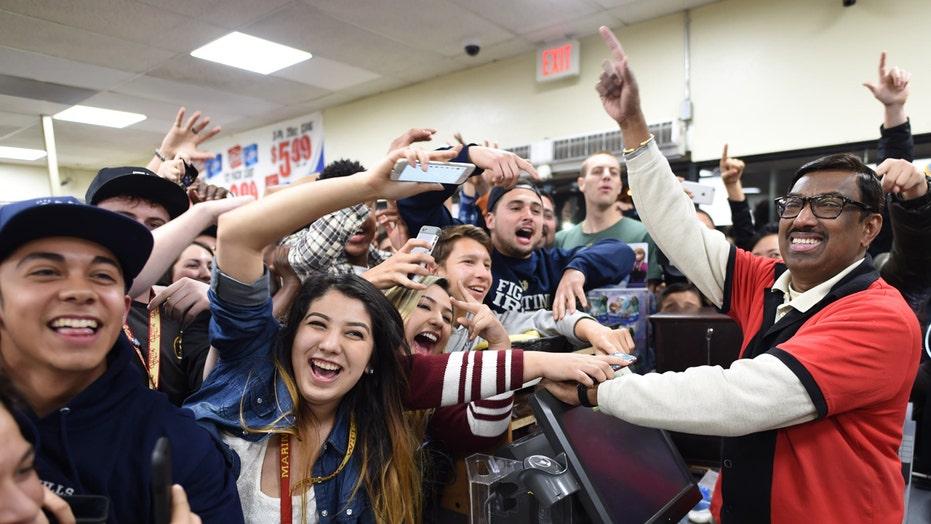 Winning Powerball tickets sold in three states