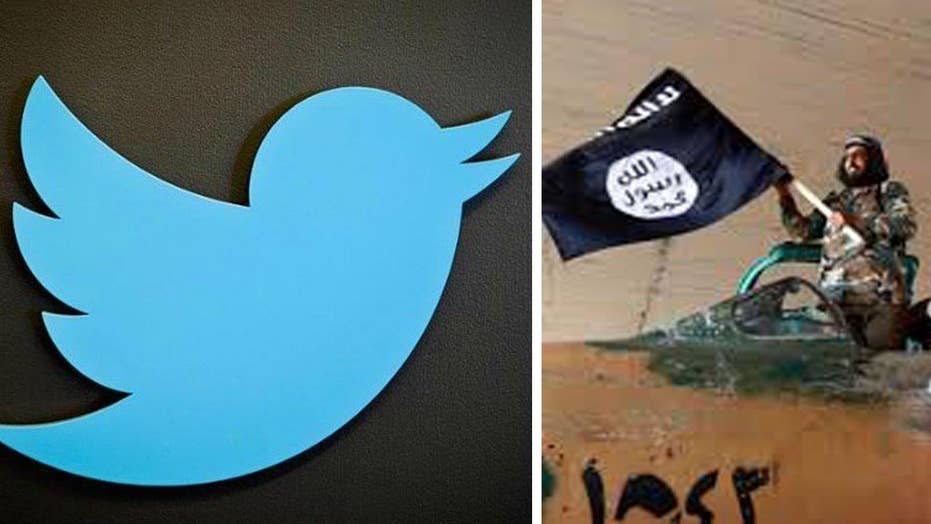 Widow sues Twitter for allowing ISIS to spread its message