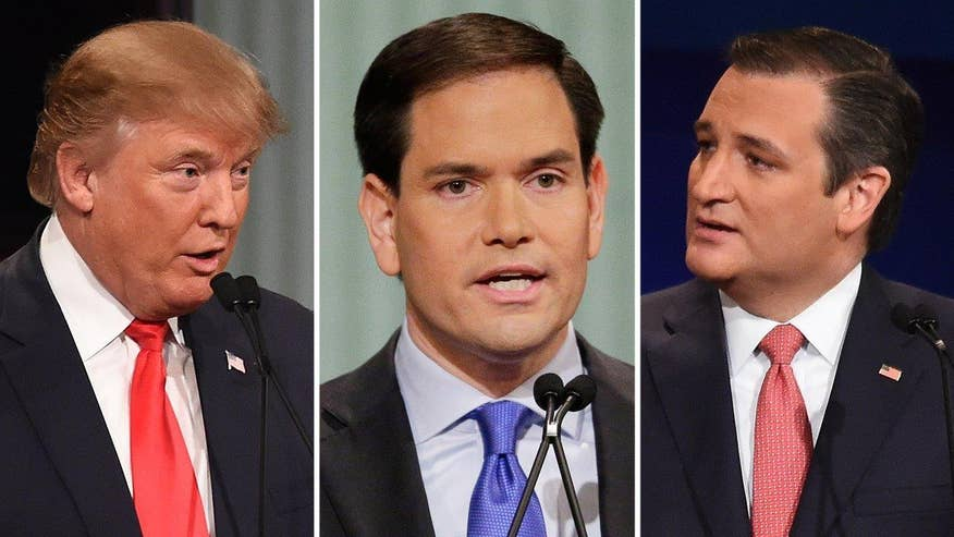Contenders ratchet up the rhetoric in battle for GOP presidential nomination