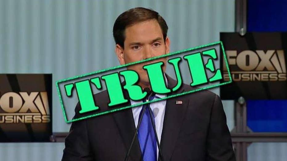 Fact checking GOP candidates' debate claims