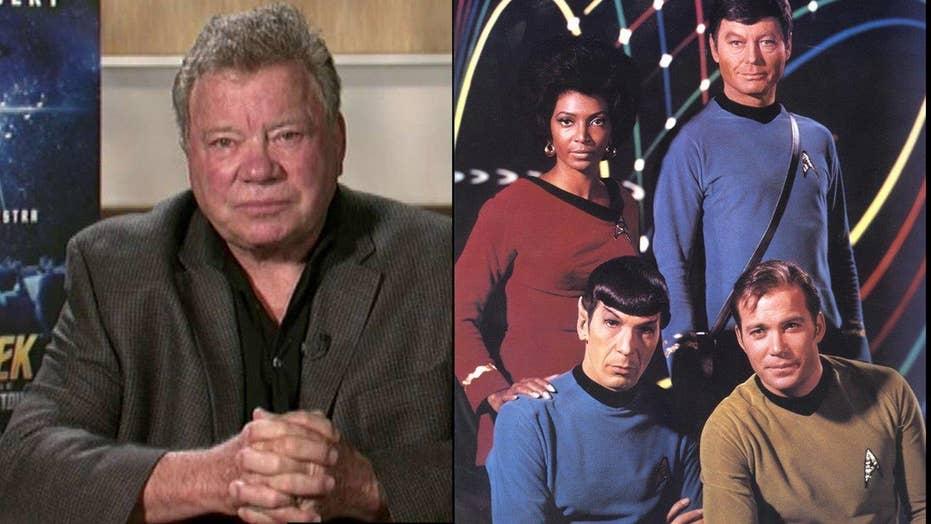William Shatner on 'Star Trek' 50th anniversary