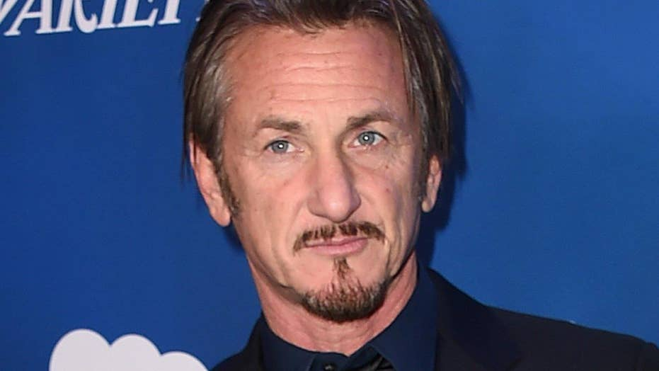 Sean Penn says he's not scared for his life