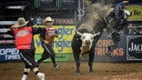 Rick Reichmuth learns how to ride a bull